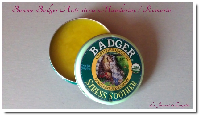 baume badger anti stress