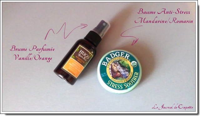 hugo naturals essential mist et badger anti stress