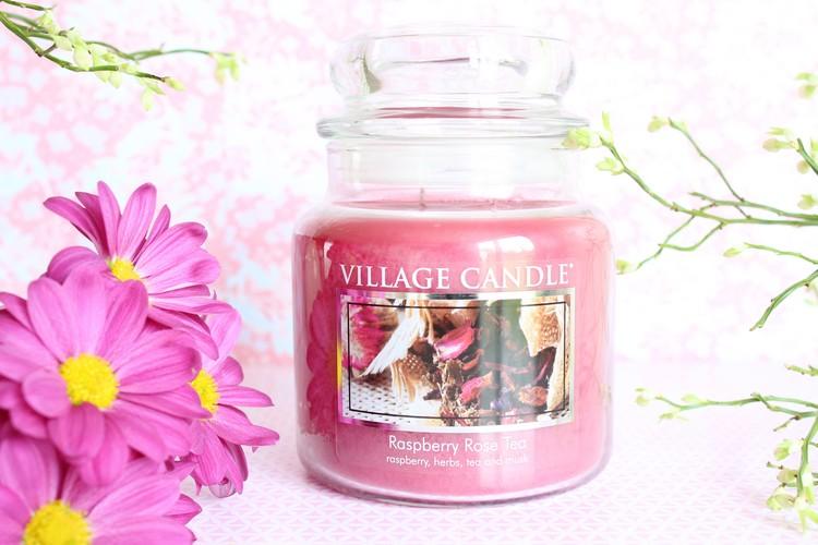 village_candle_aspberry_rose_tea