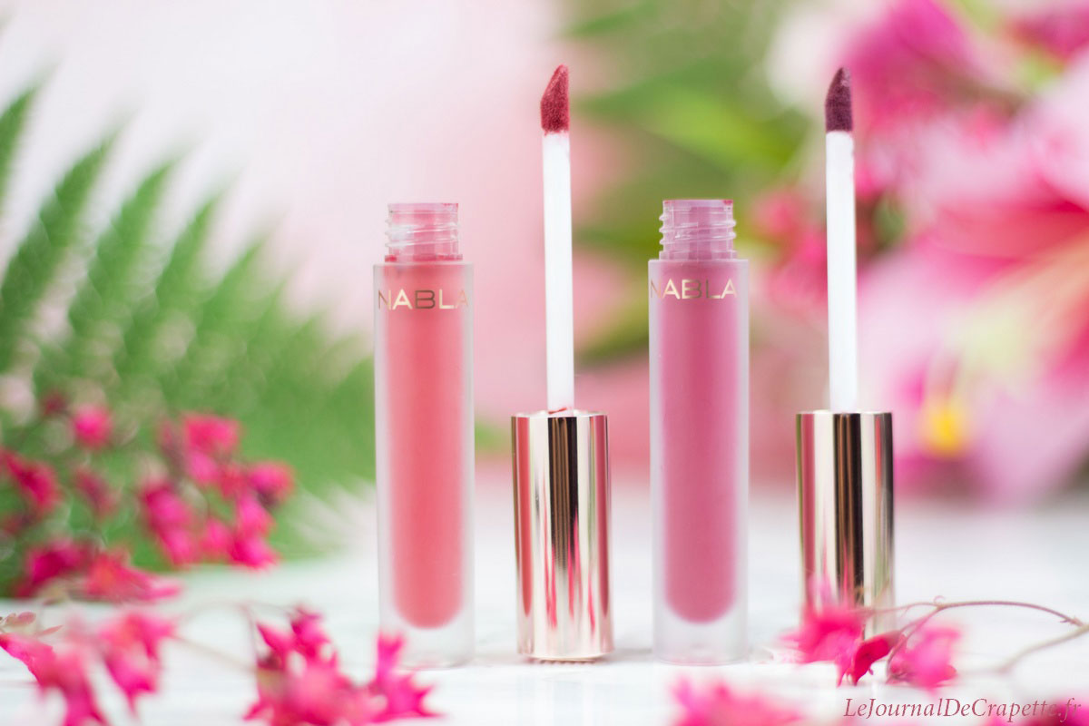Nabla Dreamy lipsticks
