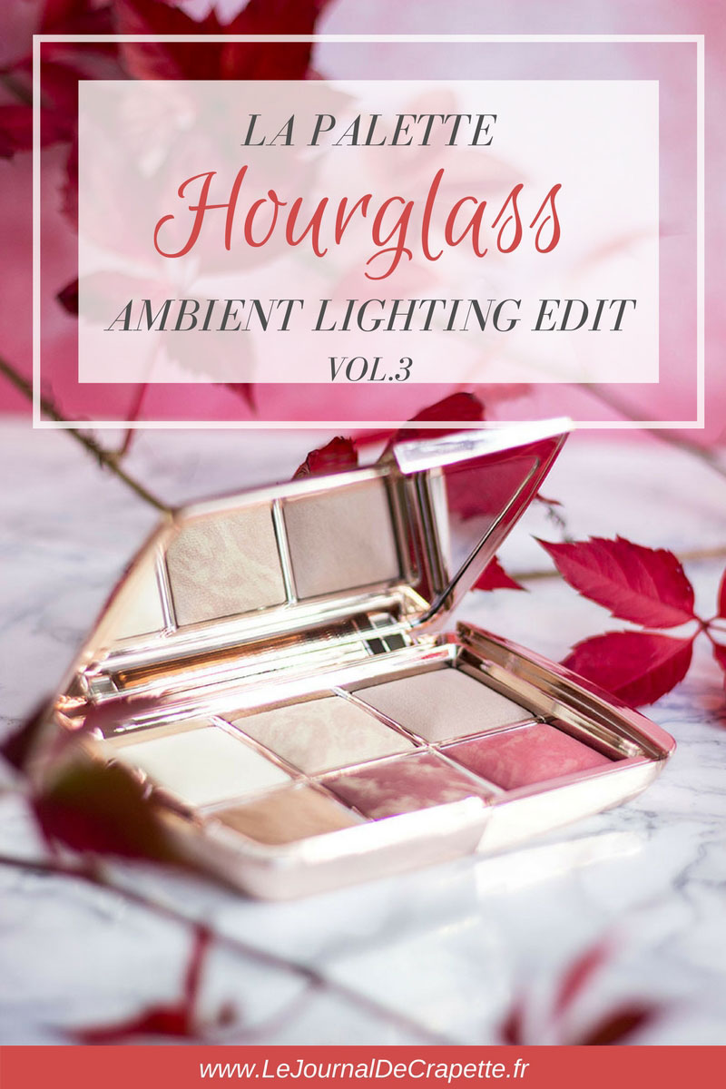 palette-hourglass-ambient-lighting #hourglass #palette #rosegold #teint