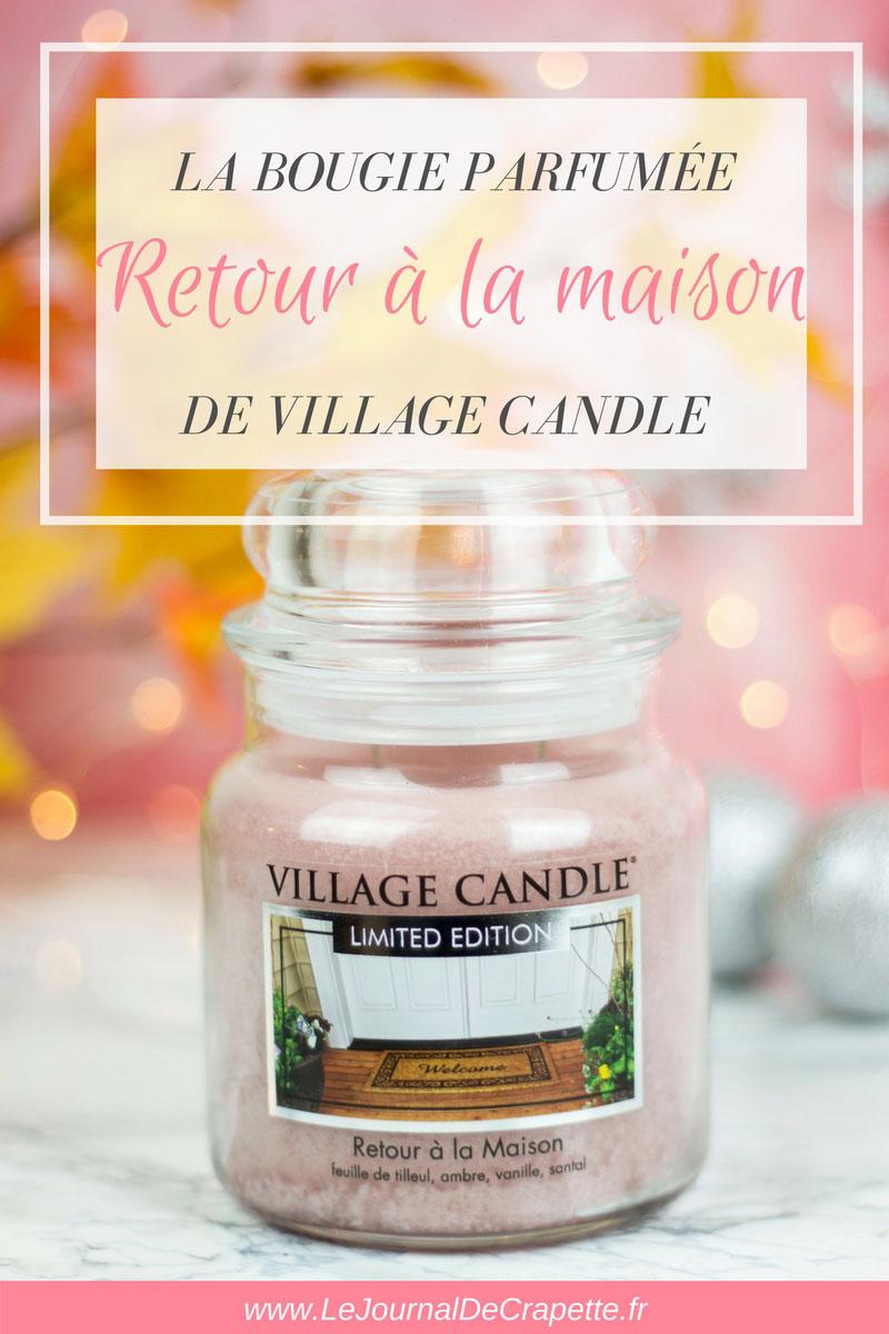 la bougie retour la maison de village candle la revue. Black Bedroom Furniture Sets. Home Design Ideas