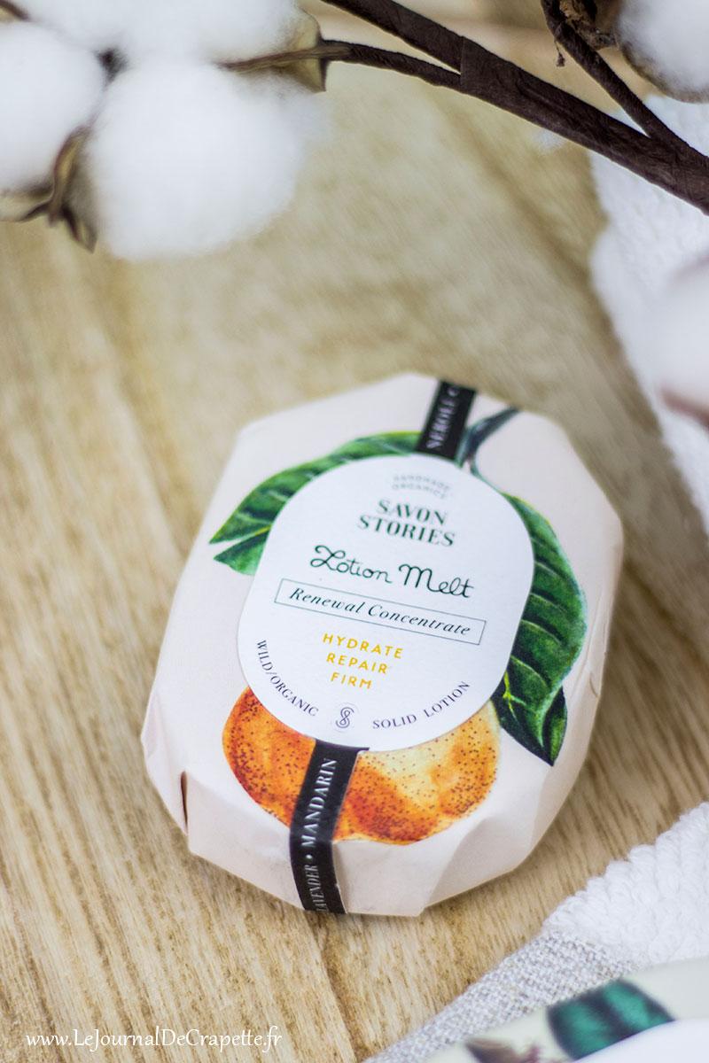baume lavande neroli et mandarine de Savon Stories