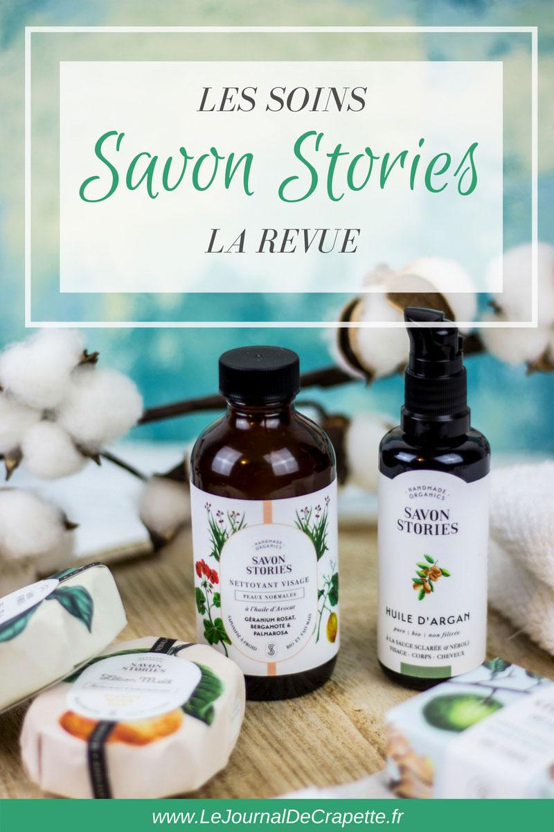 Les soins Savon Stories Présentation #savonstories