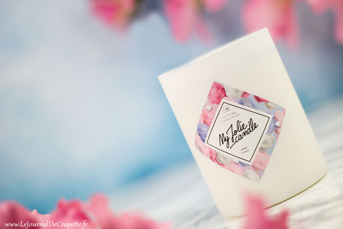 Bougie cire naturelle My Jolie Candle