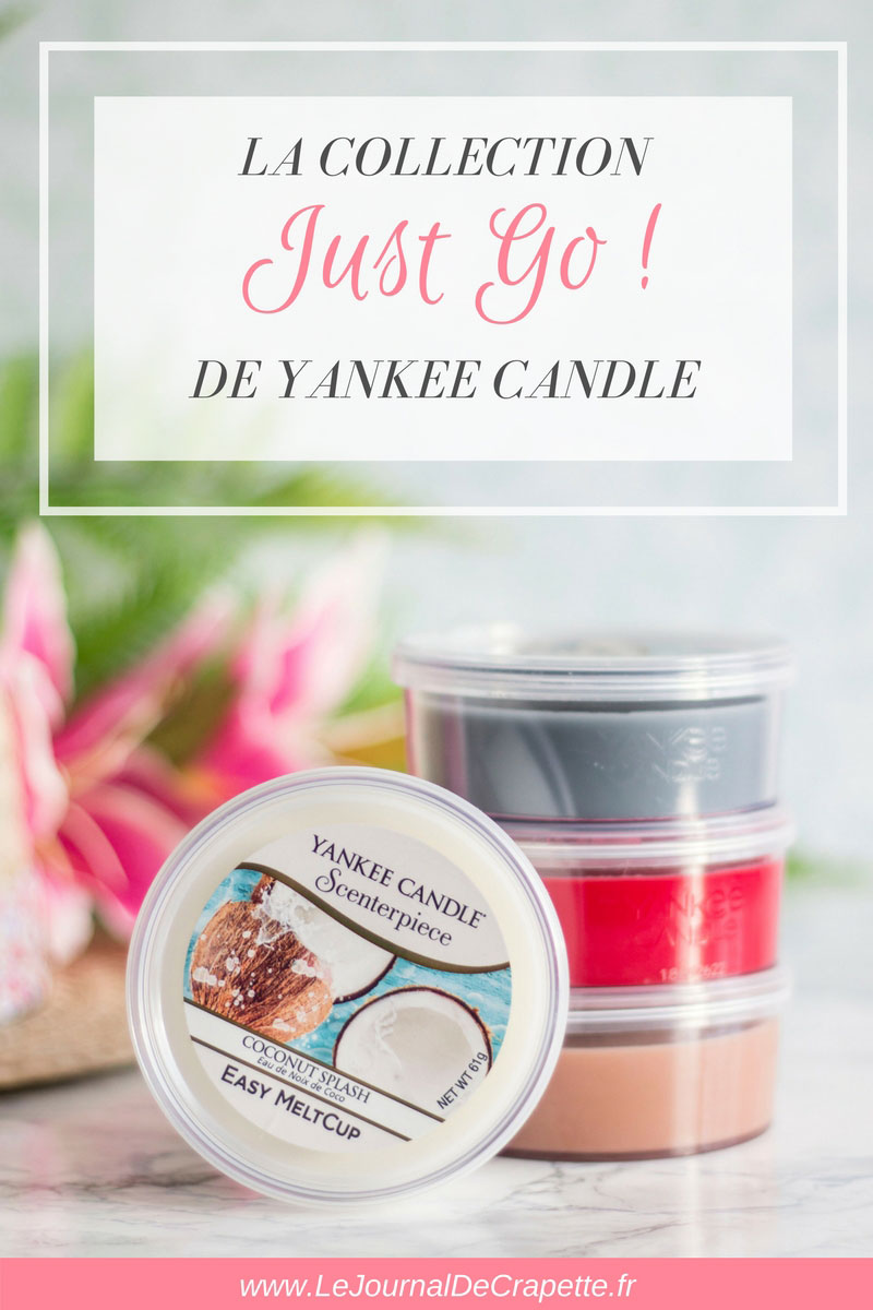 Collection Just Go de Yankee Candle - ETE 2018
