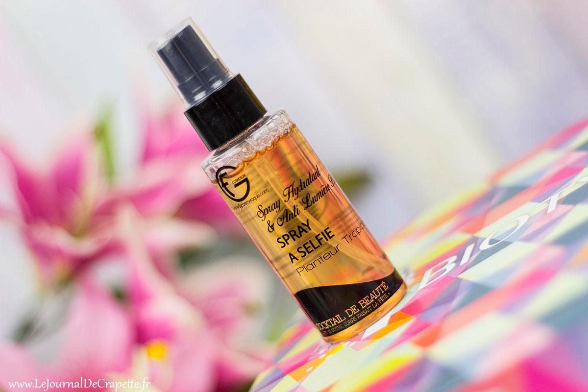 spray à selfie de Fg Cosmetiques