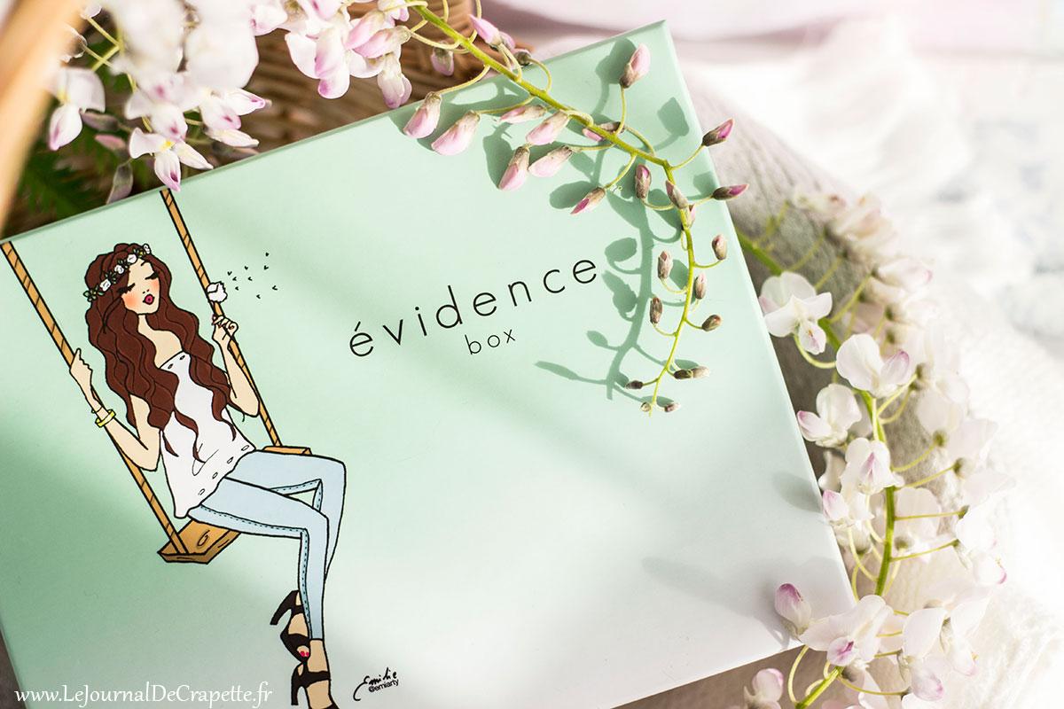 Box Evidence de mai 2018 avis et contenu