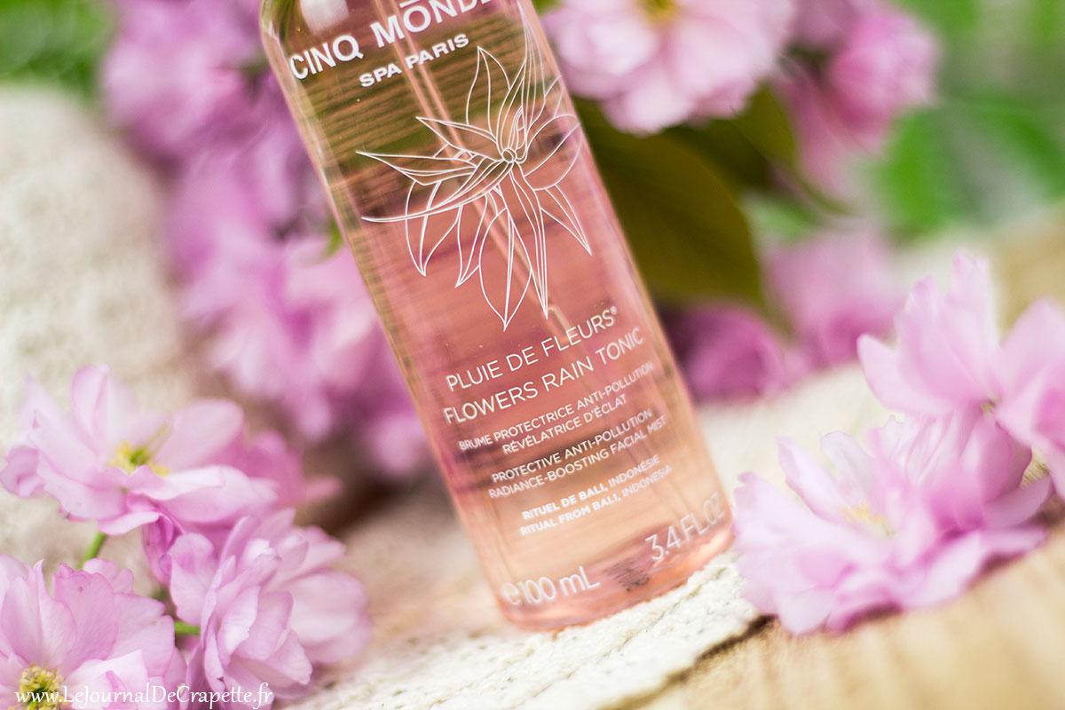 eau Pluie de fleurs Cinq Mondes