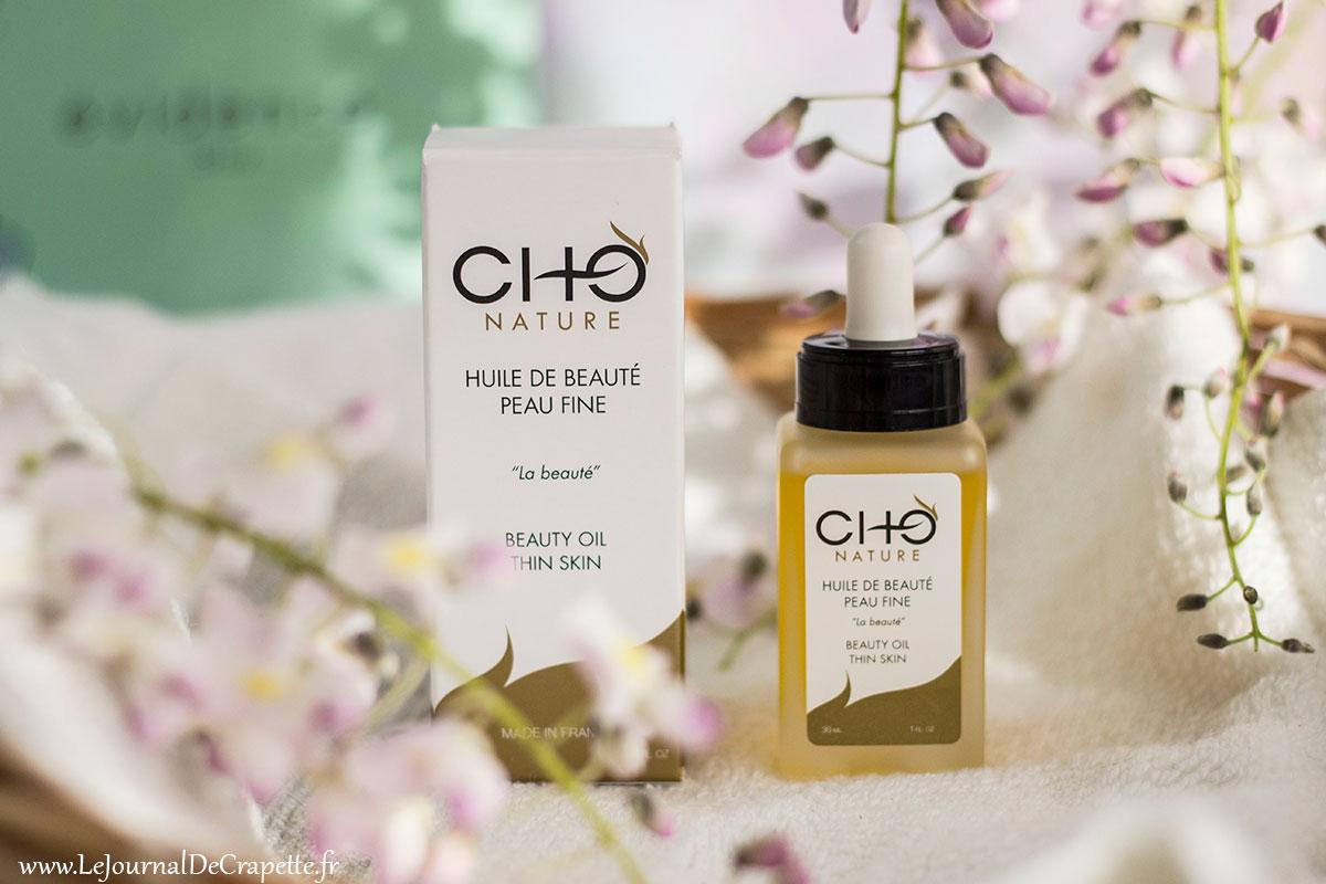 huile de beauté CHO Nature