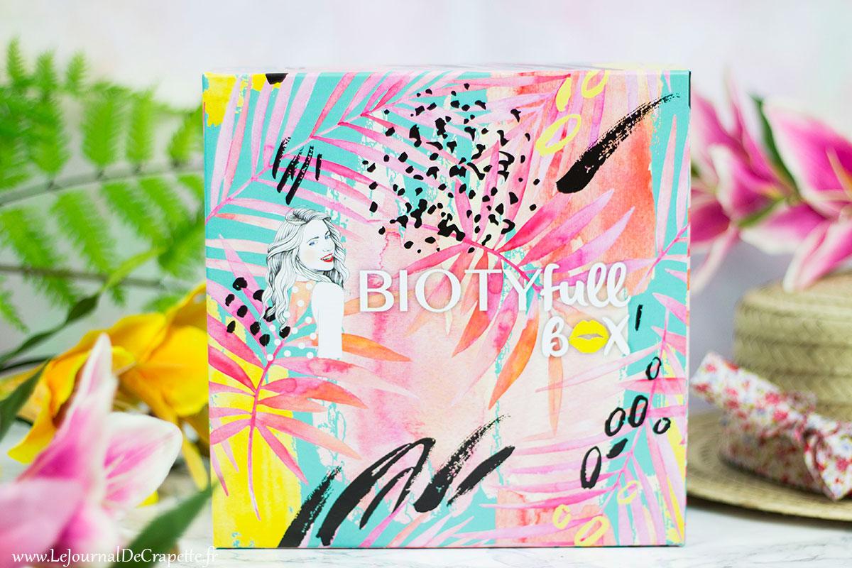 Biotyfull Box de juin contenu