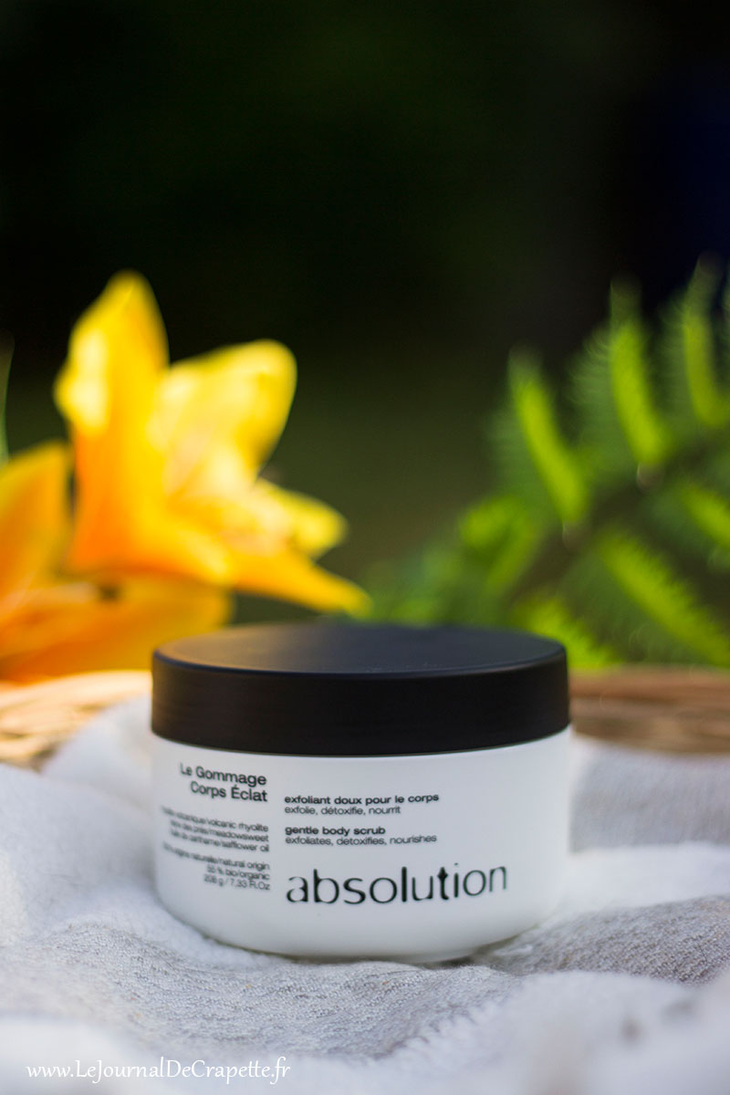 exfoliant corps Absolution