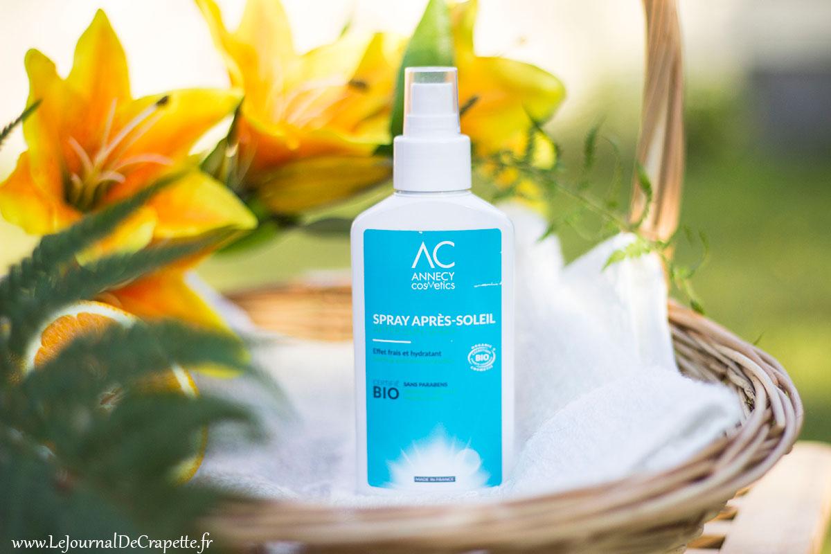 spray apres soleil annecy cosmetics