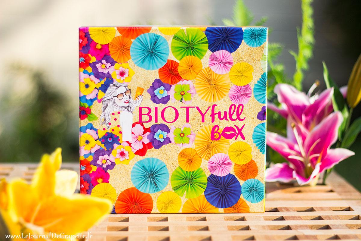 Biotyfull Box juillet 2018 avis