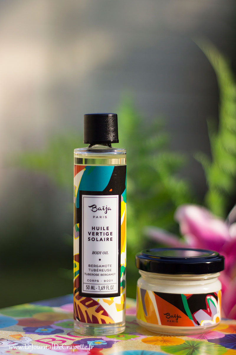 huile vertige solaire Baija