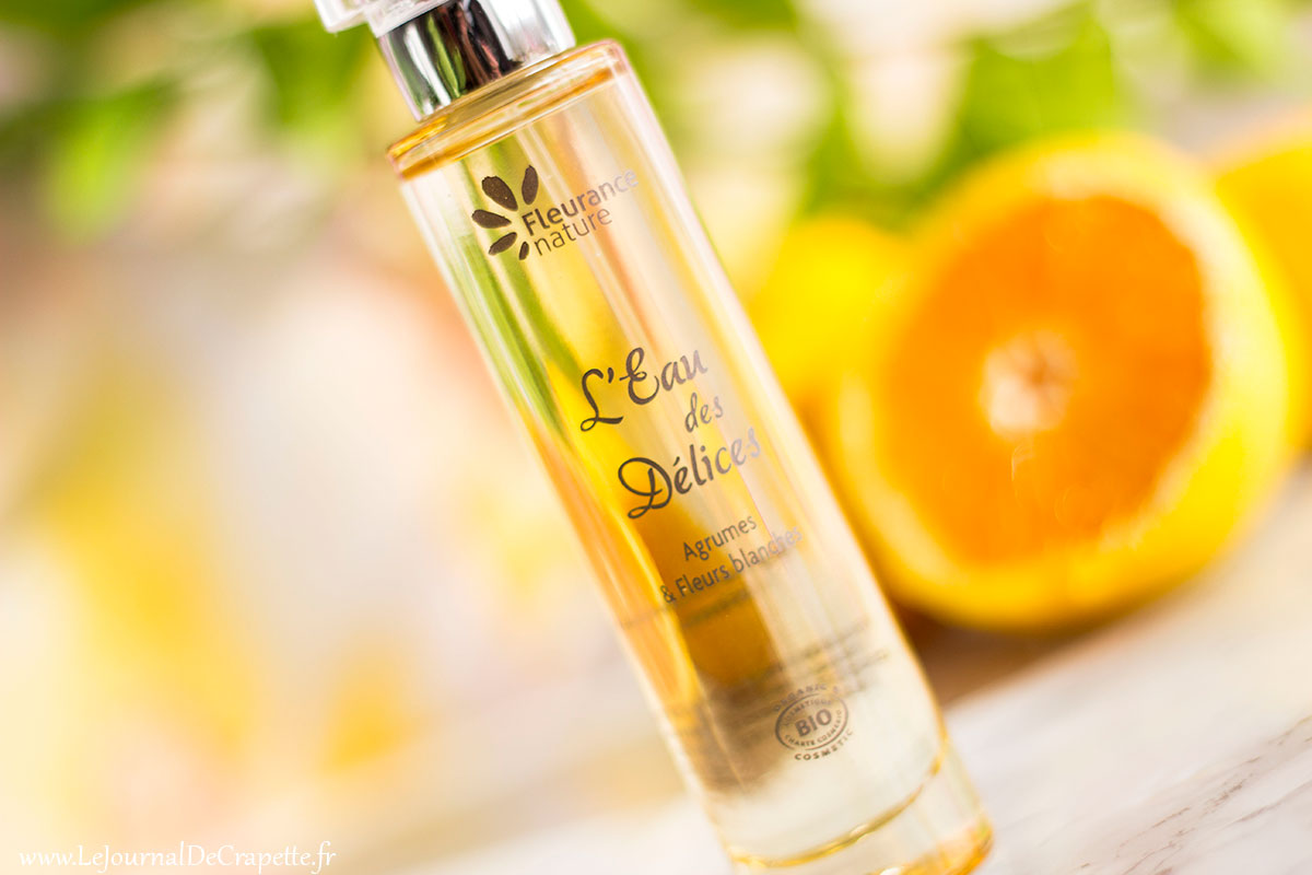 parfum agrumes eau des delices fleurance nature