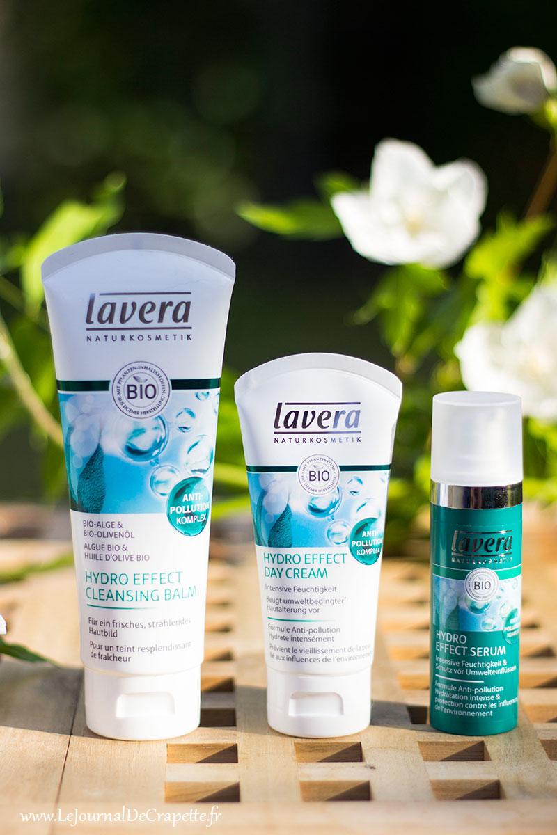 soins Lavera anti pollution bio