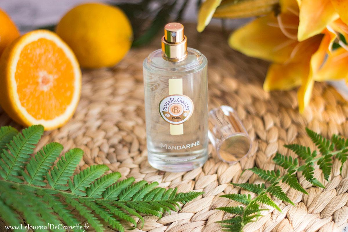 eau bienfaisante mandarine roger et gallet