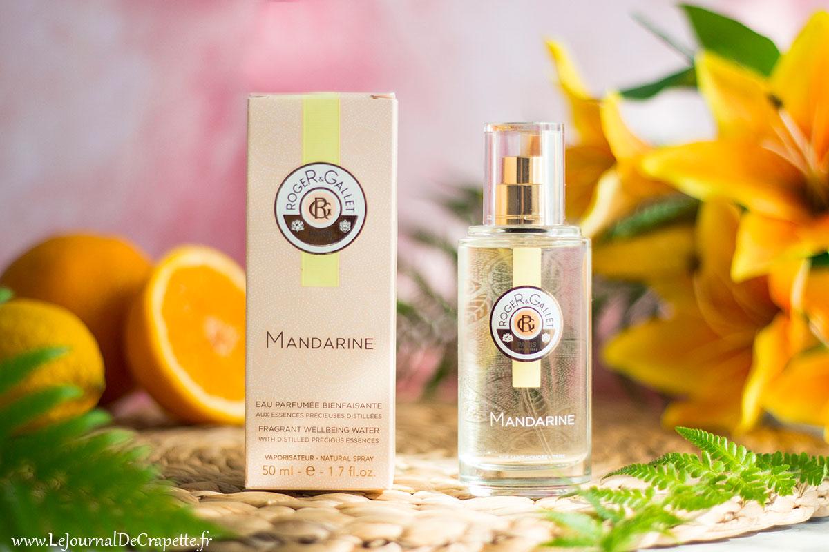 eau parfumée mandarine de Roger et Gallet