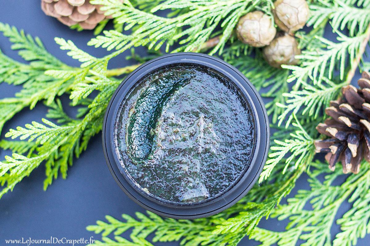 texture gommage corporel natura siberica