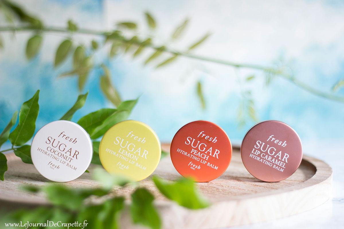 Fresh Sugar lip balms