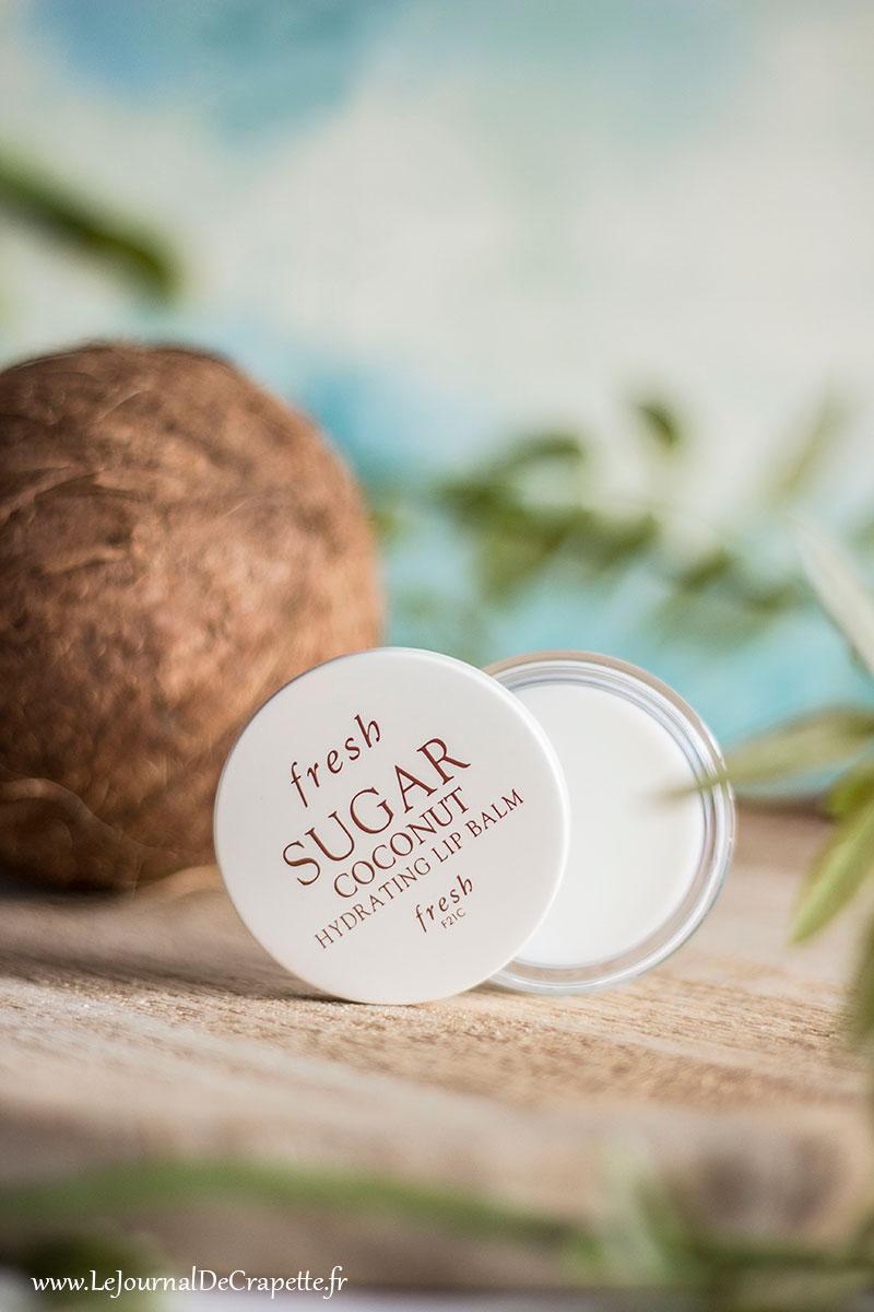 lip balm coconut fresh sugar