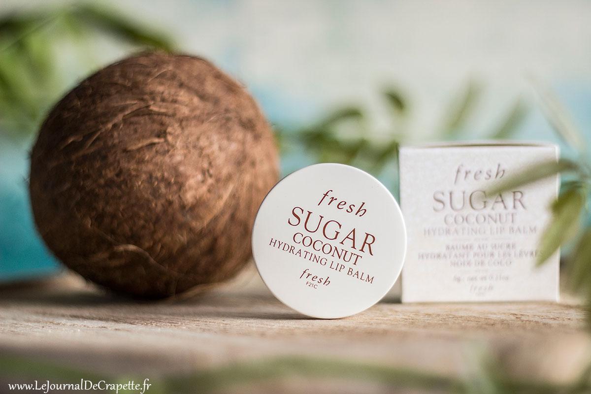 fresh sugar lip balm coconut
