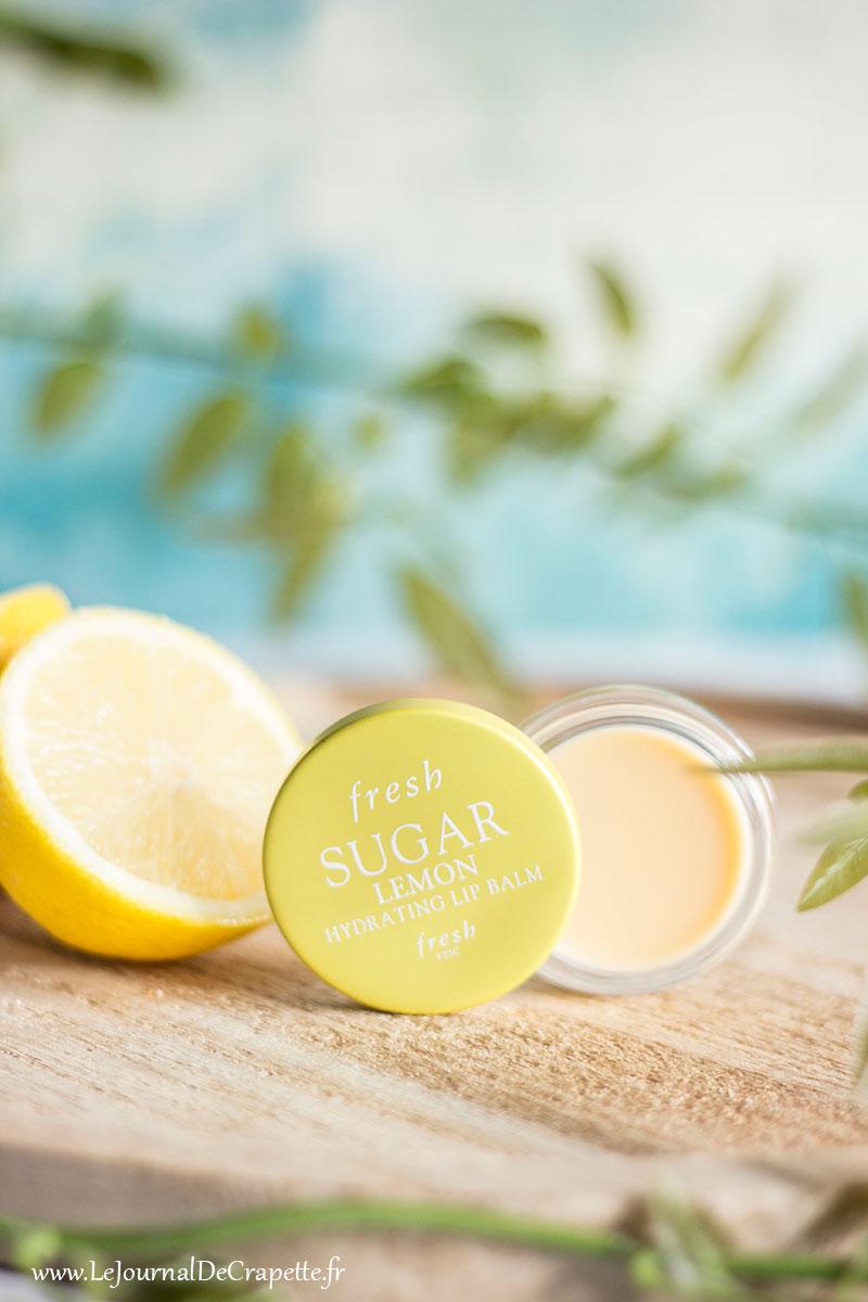 fresh sugar lip lemon