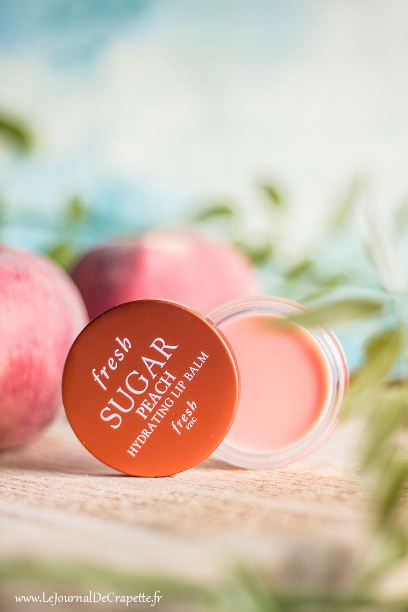 fresh sugar lip peach
