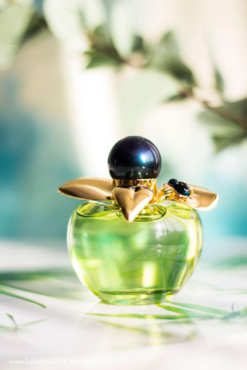 flacon parfum Bella de Nina Ricci