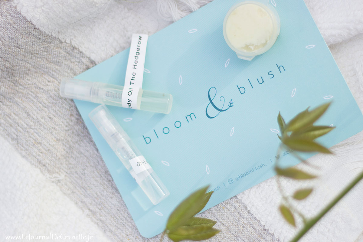 echantillons bloom and blush