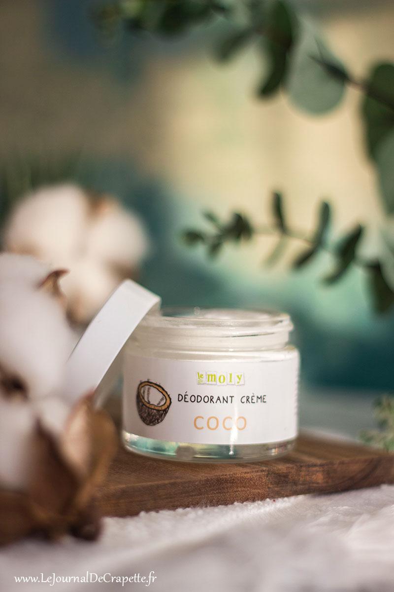 Déodorant naturel Le Moly sans huile essentielle