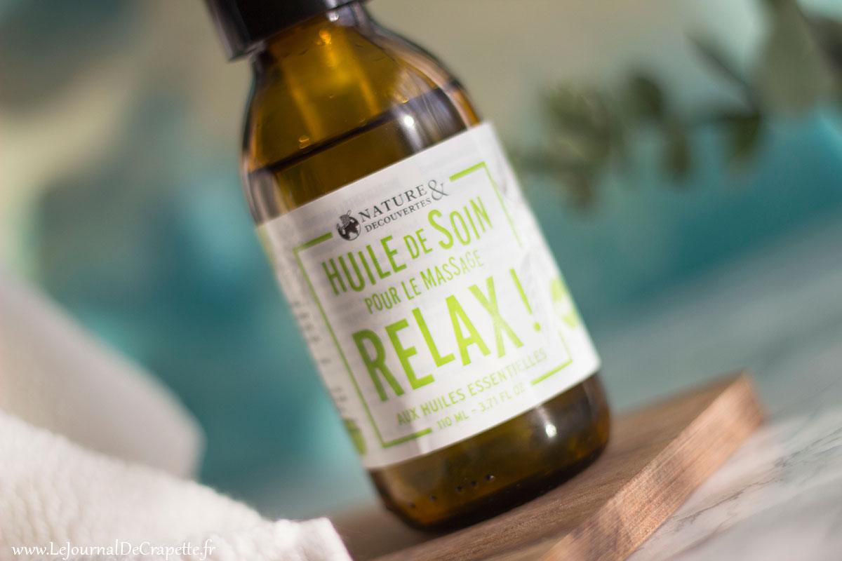huile de soin relax natures et decouvertes