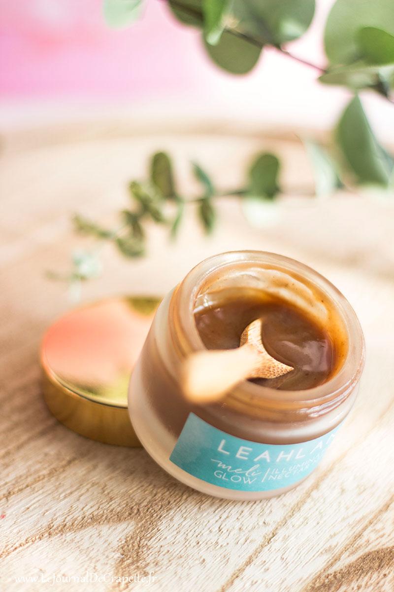 masque au miel de leahlani