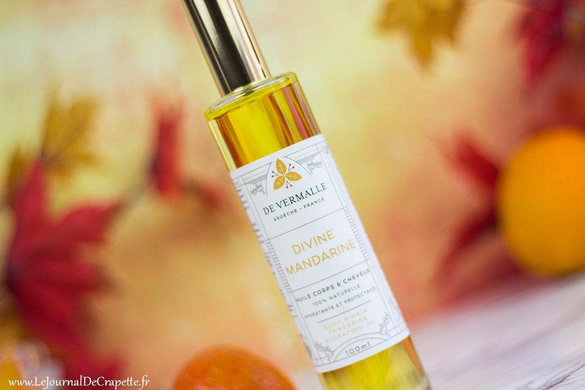 huile divine mandarine De Vermalle