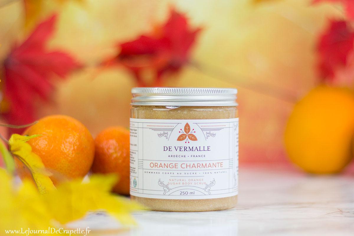 gommage orange et sucre De vermalle