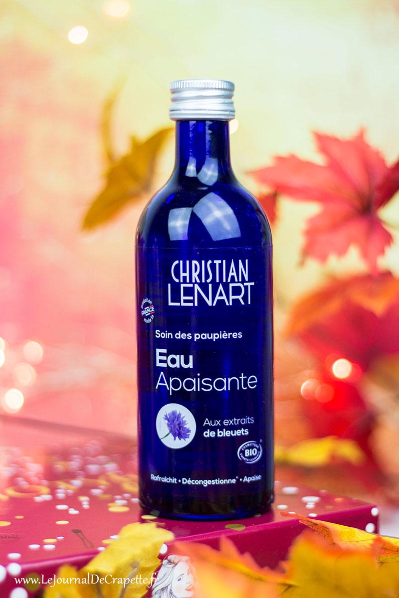 Christian Lenart - Eau apaisante bleuets