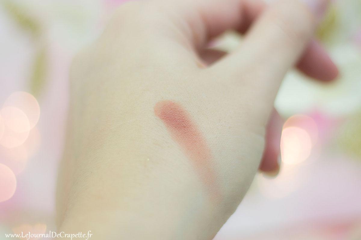 blush Zao cosmetiques Bio Brun rosé