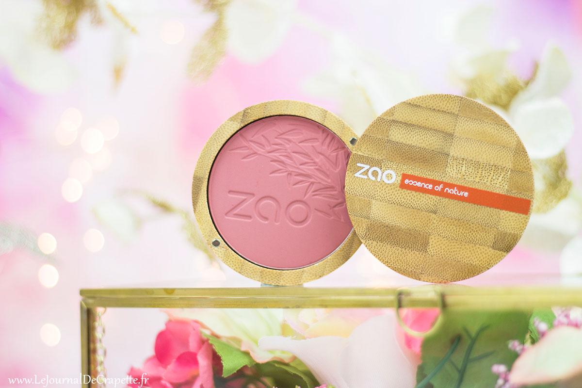 blush Zao cosmetiques Bio