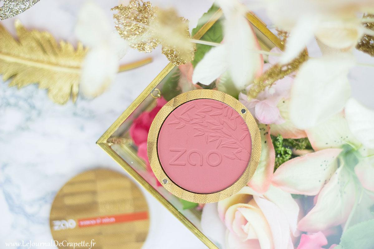 blush Zao cosmetiques