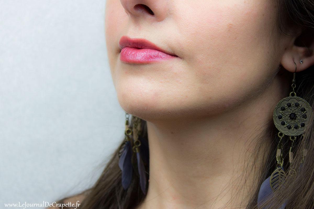 encre à lèvres Bio Zao Framboise