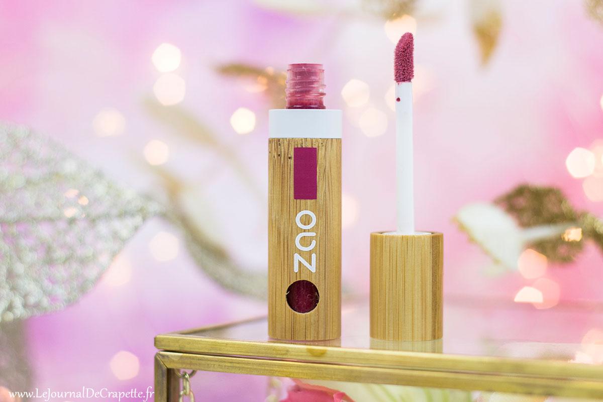 encre à lèvres Bio Zao