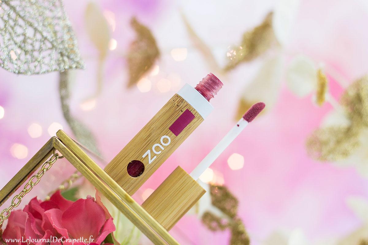 encre à lèvres Bio Zao cosmétiques