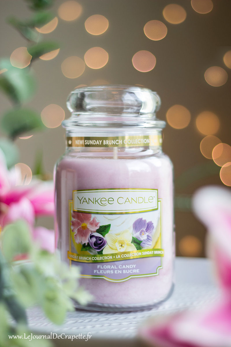 collection printemps 2019 Sunday brunch Yankee Candle