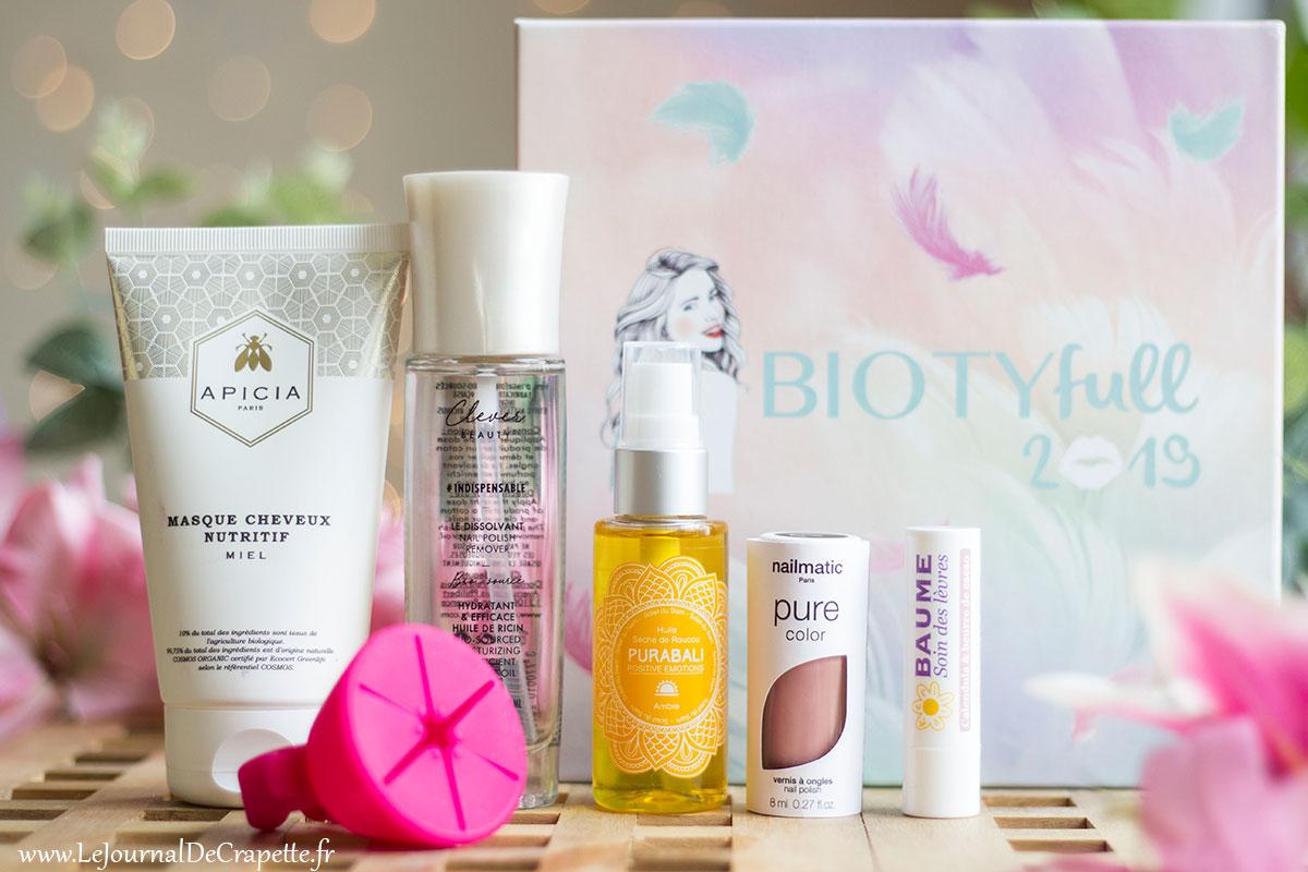 Biotyfull box janvier presentation