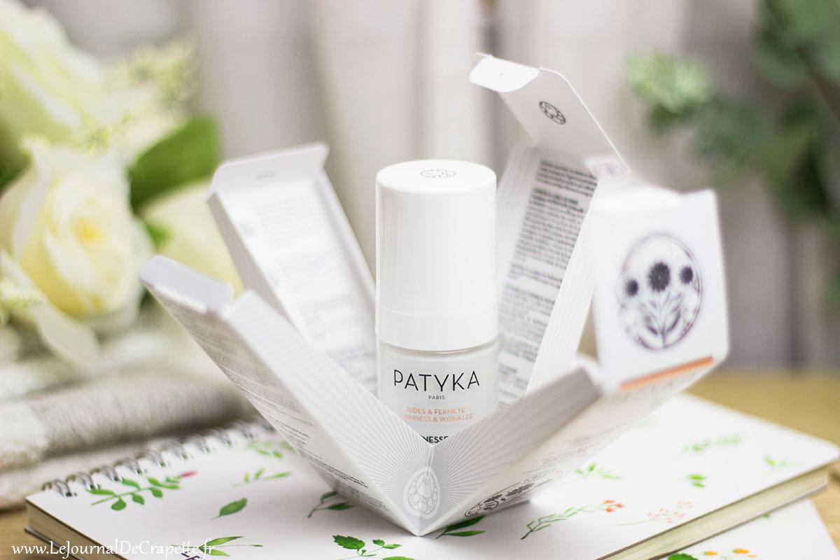 packaging creme patyka bio regard
