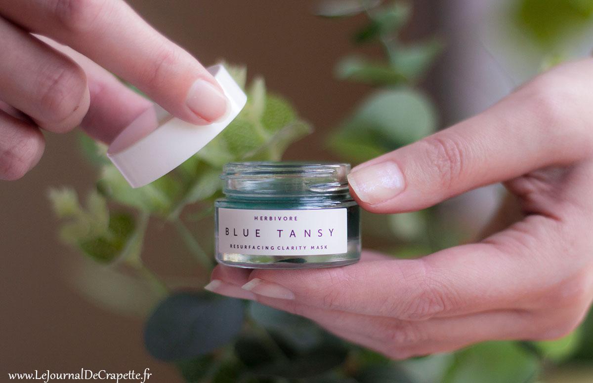 Masque Blue Tansy Herbivore
