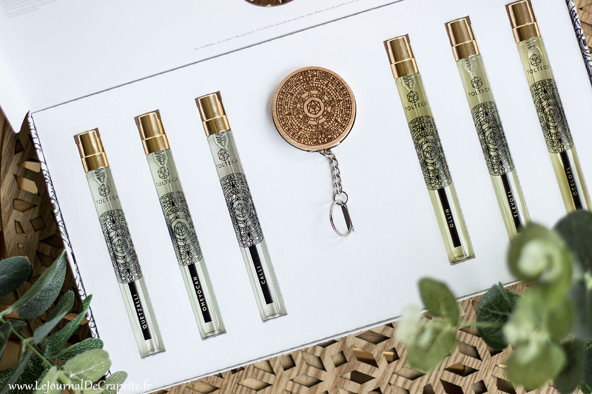 coffret découverte parfums Tolteca