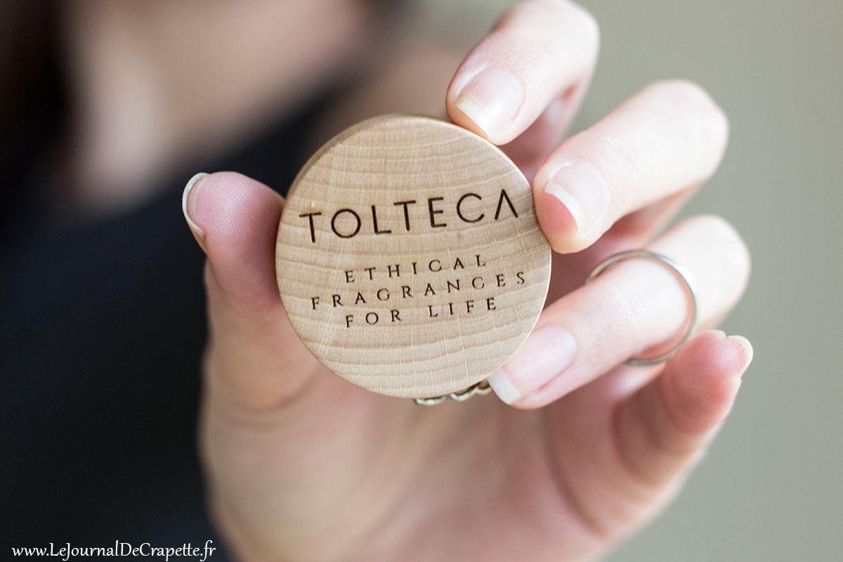 cabochon bois parfums Tolteca