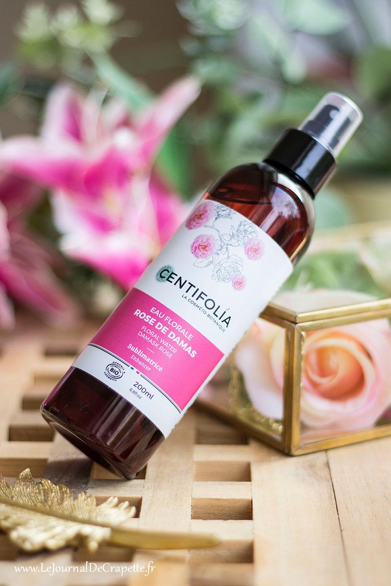 eau florale rose bio Centifolia